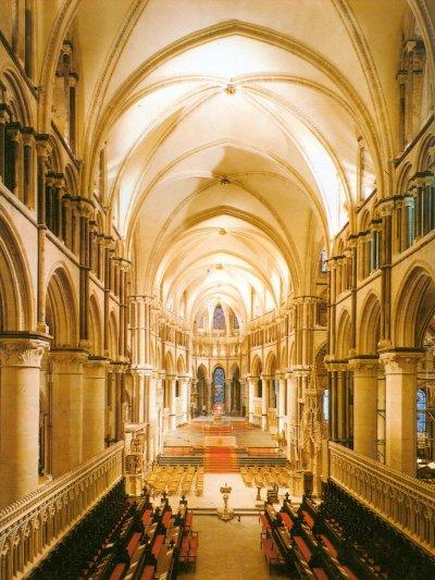12th Century Canterbury Choir Above Crypt