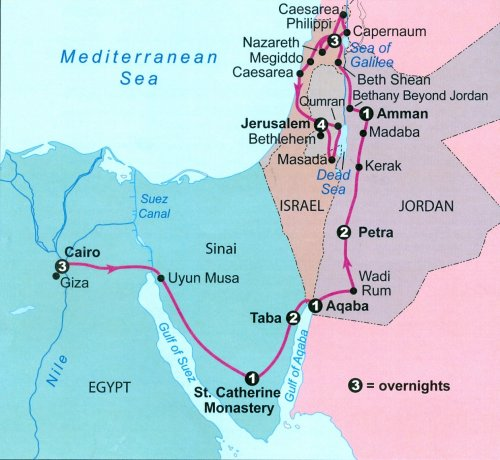 israels journey from egypt to jordan Egypt and jordan tours & trips 2018/2019 fez travel days 16 our saving egypt (27) jordan (27) israel (7) palestinian territory (2).