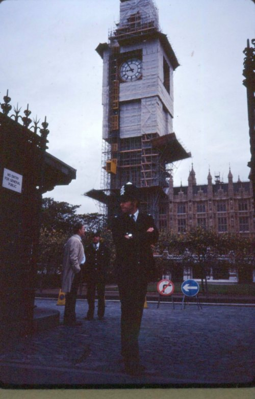Big Ben Being Renewed