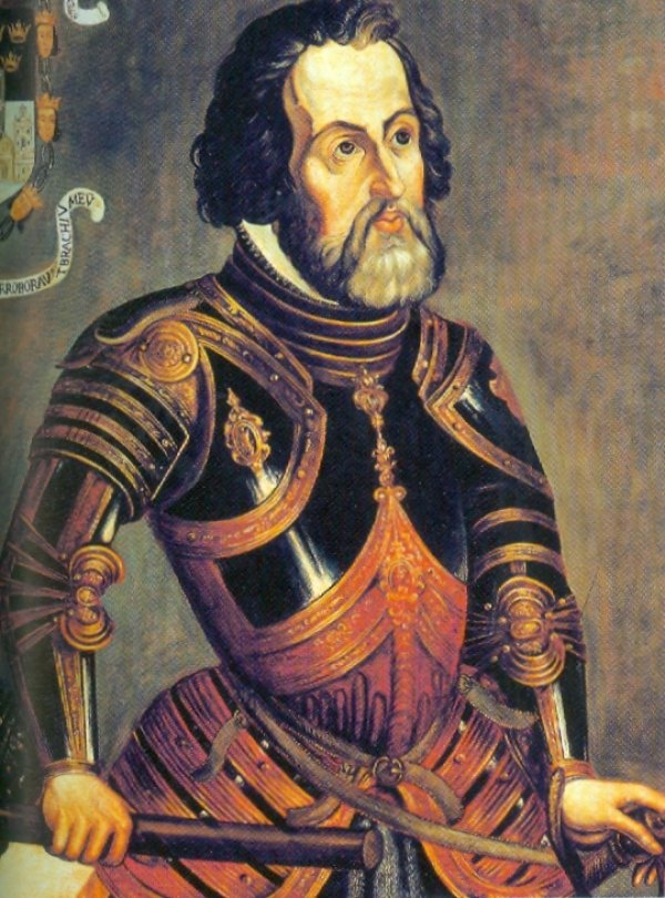 how to draw hernan cortes